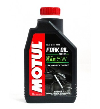 MOTUL FORK OIL LIGHT SAE 5W...
