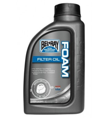 BEL RAY FILTER OIL FOAM 1L